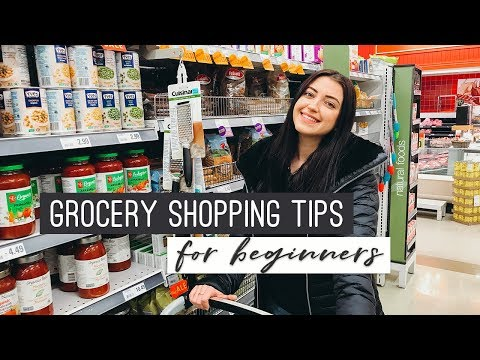 How to Shop for Vegan Groceries 2019 ♥ beginner tips + print