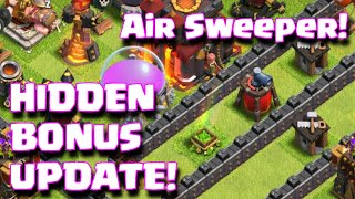 Clash Of Clans New Air Sweeper Update Full Review + Hidden Bonus Features