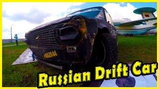 Classic Russian Drift Car LADA 2101 Review 2018. Sport Cars Show 2018. Old Car Land