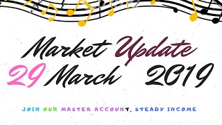 29 March 2019 Forex Market Update.  Contact us t.me/freeforextradesignals