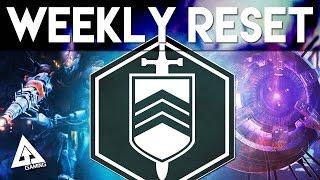 Destiny Weekly Reset - Nightfall, Heroic, Prison & More | 7th July