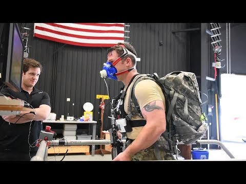The Warrior Web program, funded by DARPA, is coming to an end; however, Army researchers hope to find future collaborators to expand on its potential.  Video by Joyce Conan Army Research Laboratory