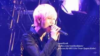 [Yesung Focus]121222 Super Junior KRY Special Winter Concert in Kobe D1 - Promise You