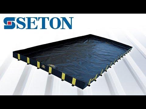 bac de r tention souple grand volume pour produits. Black Bedroom Furniture Sets. Home Design Ideas