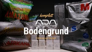 ADA Bodengrundsystem komplett erklärt auf Deutsch