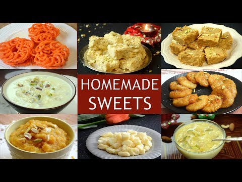 Download Youtube: Indian Sweets Recipe | Quick and Easy Mithai Recipes for Diwali