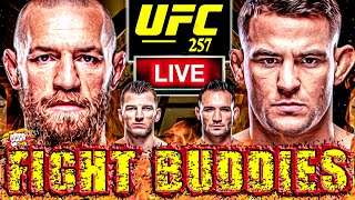🔴 UFC 257: MCGREGOR VS POIRIER 2 + HOOKER VS CHANDLER LIVE FIGHT REACTION!