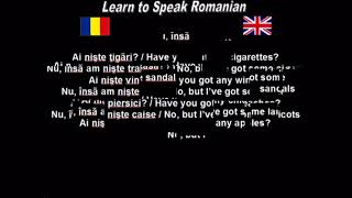 Learn to Speak Romanian 27. What have you got