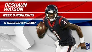 Deshaun Watson Pulls Oḟf Another 5 TD Game! 🙌 | Chiefs vs. Texans | Wk 5 Player Highlights