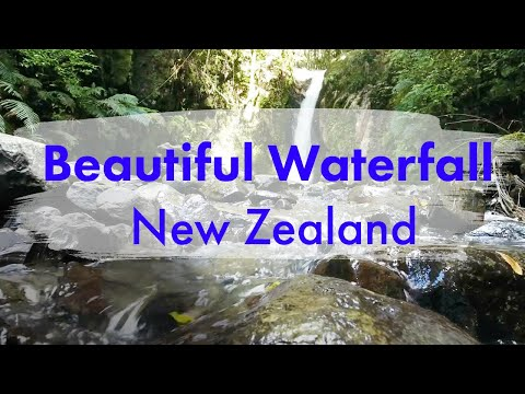 Ilchi Lee Journal: New Zealand Waterfall