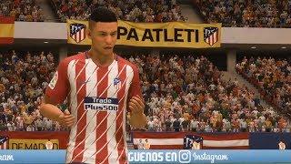 Fifa 18 - atlético madrid vs arsenal - uefa europa league gameplay (hd) [1080p60fps]