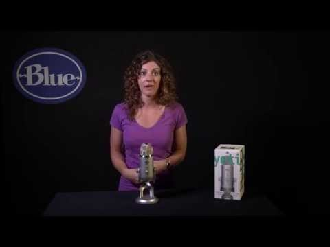Yeti Introduction – Ultimate USB mic for Professional Recording | Blue Microphones