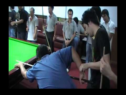 Q-ball school [basic snooker]