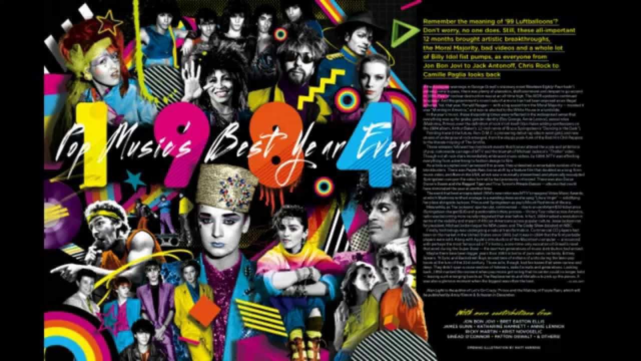 Top 84 songs of 1984