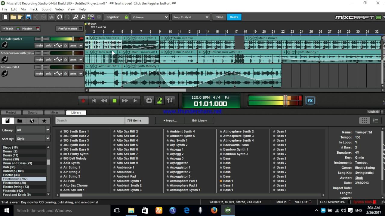 Download Mixcraft Free