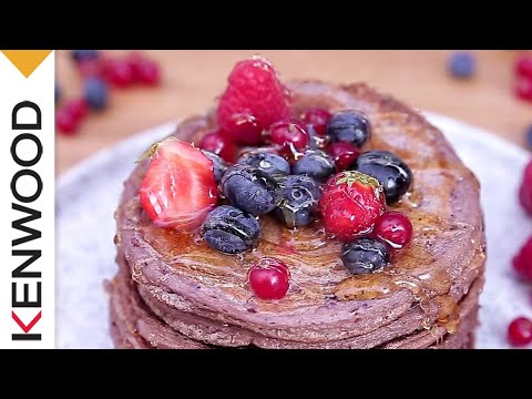 recette-de-pancakes-fruits-rouges-au-cooking-chef-gourmet-kenwood