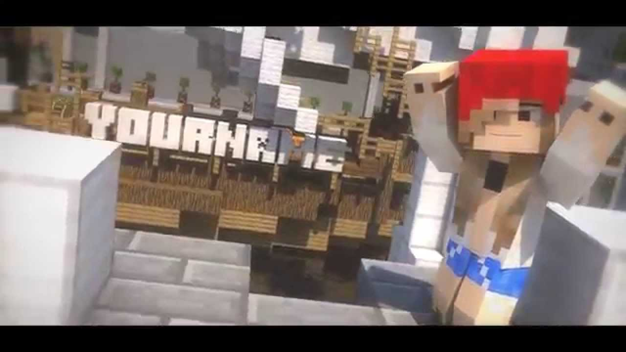Free Minecraft Intro Template Cinema8D, After Effects + SKIN - YouTube