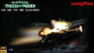 PC - The Matrix: Path of Neo - LongPlay [4K]