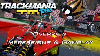 Trackmania Turbo Overview, Impressions & Gameplay | Game Modes & Secret Codes | PS4