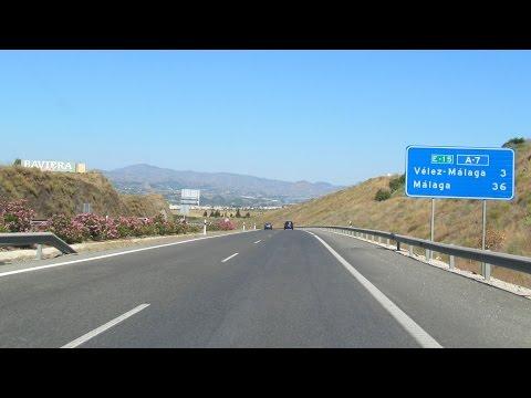 Spain: A-7 Nerja - Málaga