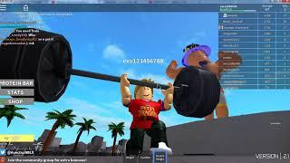Weight Lifting Simulator 2 -Roblox-