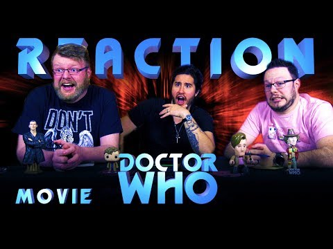 """Classic Doctor Who REACTION!! """"The Movie"""""""