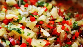 Spicy Pineapple Salsa # 2