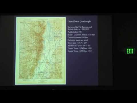 "The Survey of the 1899 USGS Grand Teton Quad"". Presented by Todd Cedarholm, OnSight Survey"