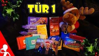 1st Adventskalender Door ❄ Get Germanized Advent Calendar 2015 ❄ Free German Chocolate