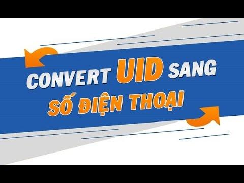 Công cụ chuyển đổi UID Facebook sang email và SĐT