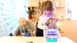 Aqua Dragons® Colour Changing Deluxe with LED lights video