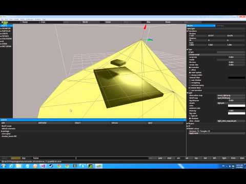 Glow Editor, IMGUI improvements - docking/resizable panels