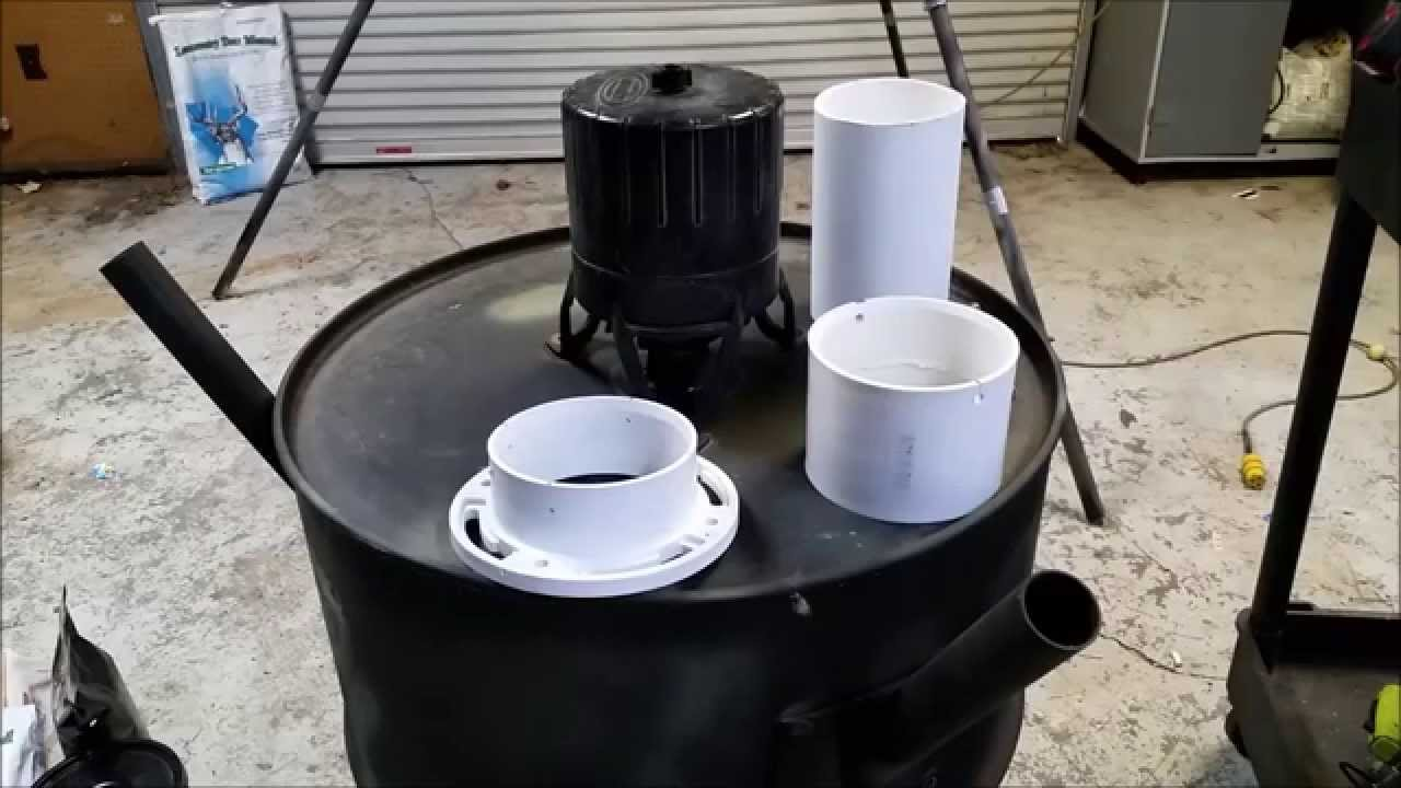 DIY Convert your Automatic 55 gal spin feeder to a gravity free choice  protein feeder
