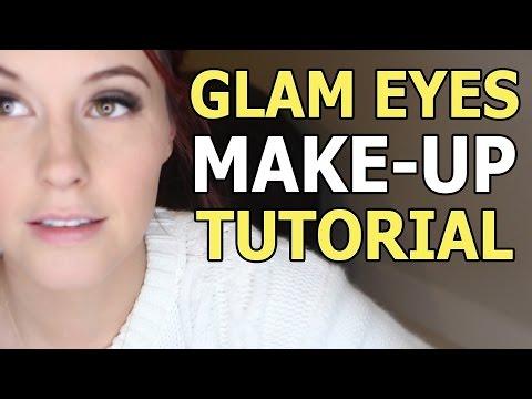 Glam Eyes Make-up Tutorial - Meg Turney