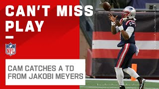 Former QB Jakobi Meyers Hits Cam for a Trick Play TD Pass!