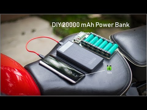 DIY 20000mAh Power Bank | Super Simple