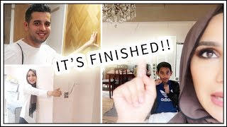 OUR HOUSE IS FINISHED!   Final Vlog of Home Makeover   Amena