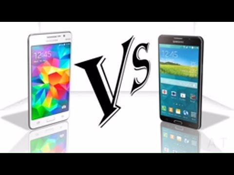 Samsung Galaxy Grand Prime Vs Samsung Galaxy Mega 2