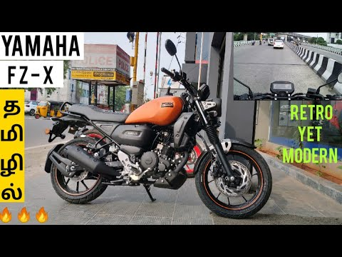 Yamaha FZ X 🔥🔥🔥 Detailed Review & Test Ride in Tamil தமிழில்!!!