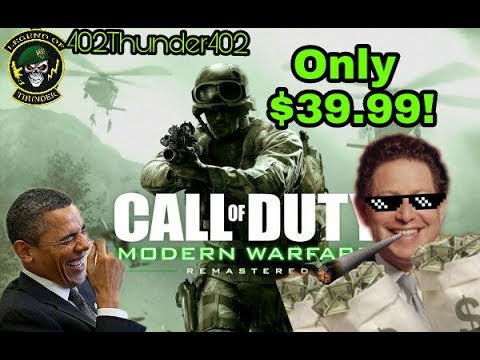 Call of Duty: Modern Warfare Remastered Standalone Available Next Week
