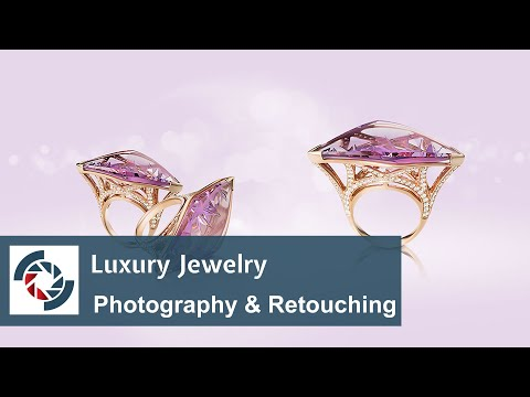 Jewelry Retouching in 1 minute: Luxury Jewelry Photography & Retouching  Workshop