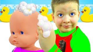 Песенка про ванну - Купаемся - Детские песни - Макс и Песни для детей