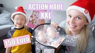 XXL ACTION HAUL | Dekoration & Bastelkram | Isabeau
