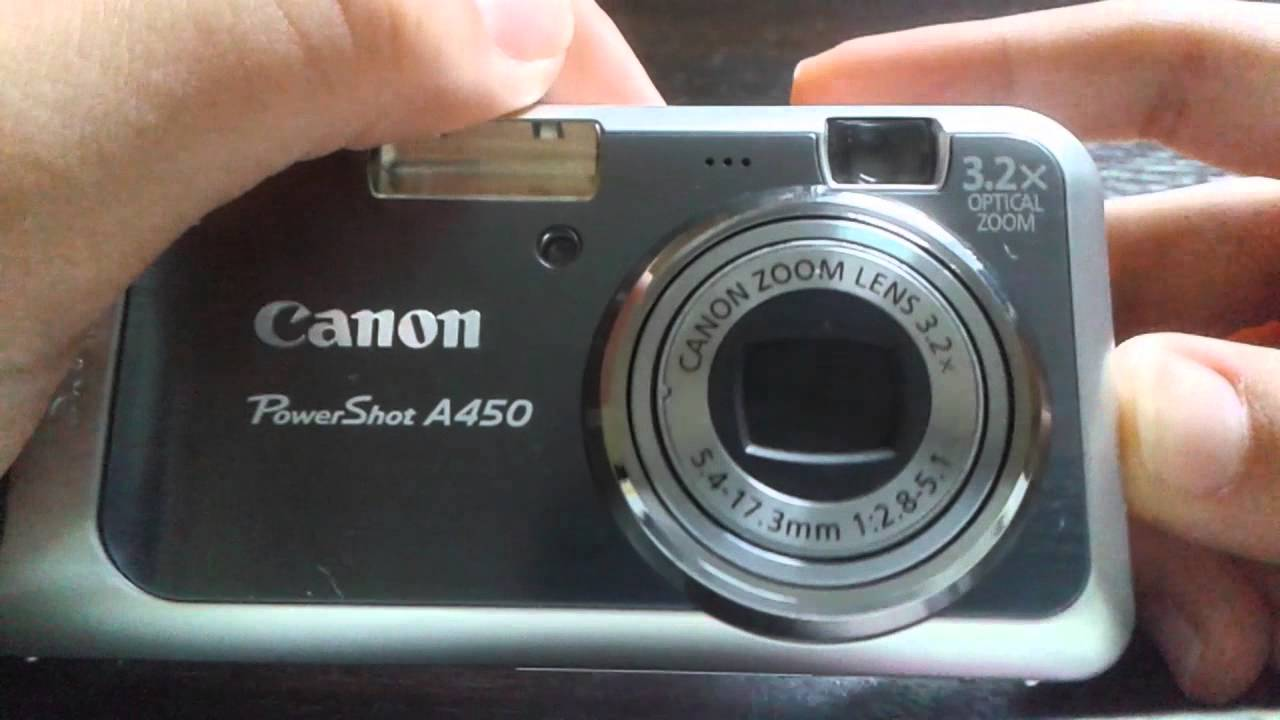 CANON POWERSHOT A450 DRIVER DOWNLOAD