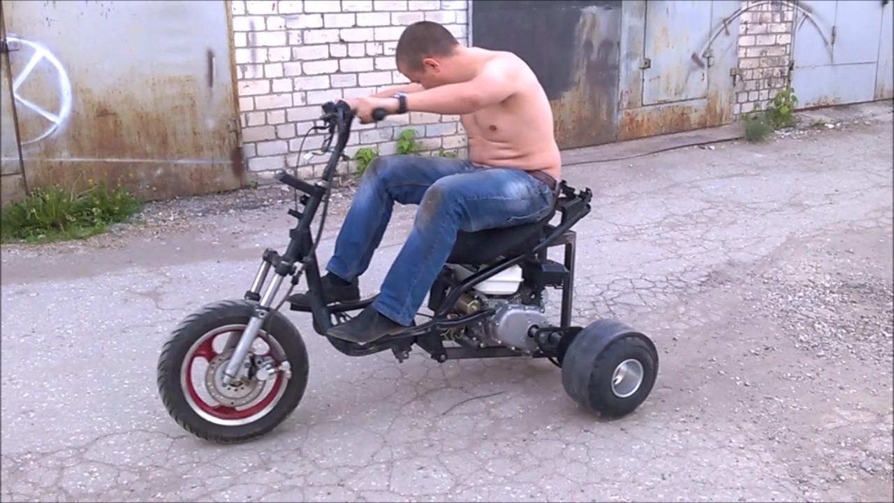 Drift scooter AMA CP Samara (Дрифт-Трайк из скутера)