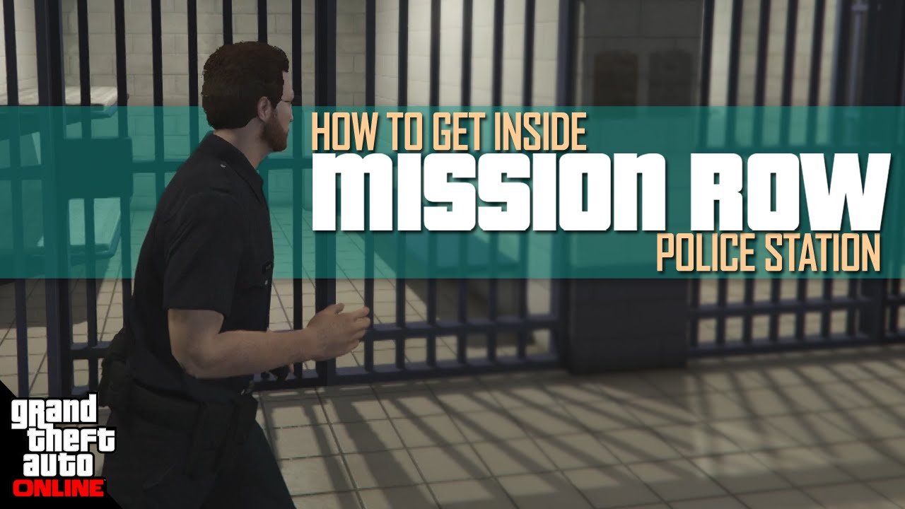 How To Get Inside Mission Row Police Station (GTA Online)