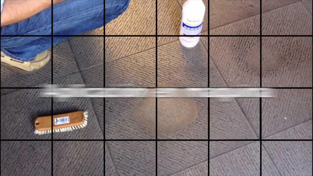 Limpieza de gres rugoso antideslizante youtube - Limpiar suelo porcelanico rugoso ...