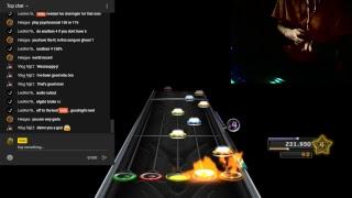 clone hero wit velo (webcam test) ft. broken guitar