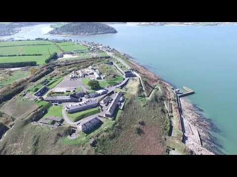 Drone Flight over Cork Harbour