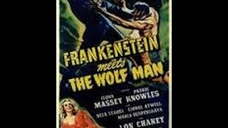 First Horror Movie Seen Week - Frankenstein Meets The Wolfman - Spoilers